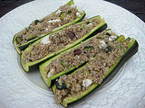 Quinoa-Stuffed Boats