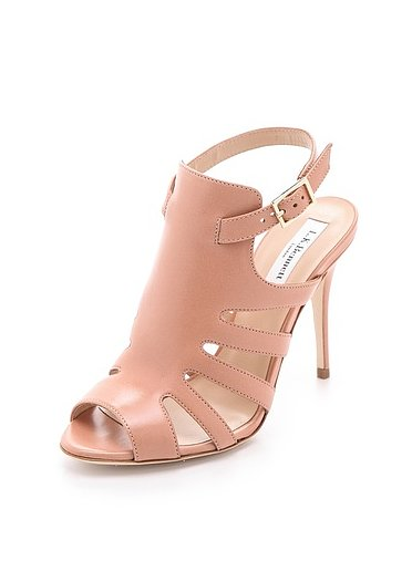 A standout pair of leg-lengthening nude heels? Sign us up for these L.K.Bennett Capri Up Front sandals ($237, originally $395).