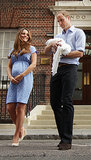 Prince William, Kate Middleton, and the royal baby left St. Mary's Hospital in London the day after the prince was born.
