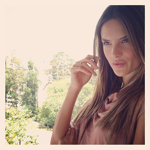 Alessandra Ambrosio snapped a photo of her view in Colombia. Source: Instagram user alessandraambrosio