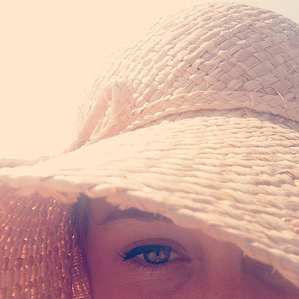 Lauren Conrad shared this up-close shot during an afternoon at the beach. Source: Instagram