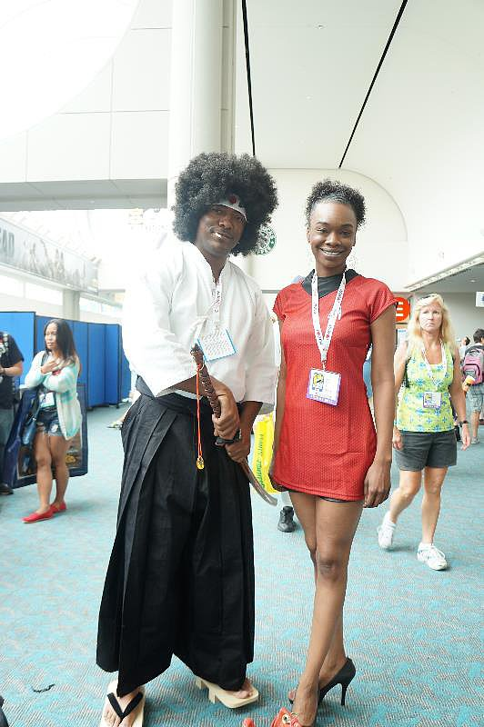 Afro Samurai and Nyota Uhura are one couple not to be messed with.
