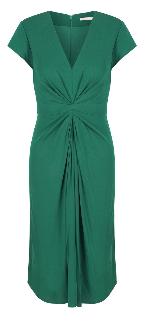 Shake up an office-appropriate wardrobe of navy and black with this emerald green style ($130). Photo courtesy of Banana Republic