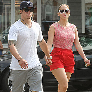 Jennifer Lopez and Casper Smart Hold Hands in the Hamptons