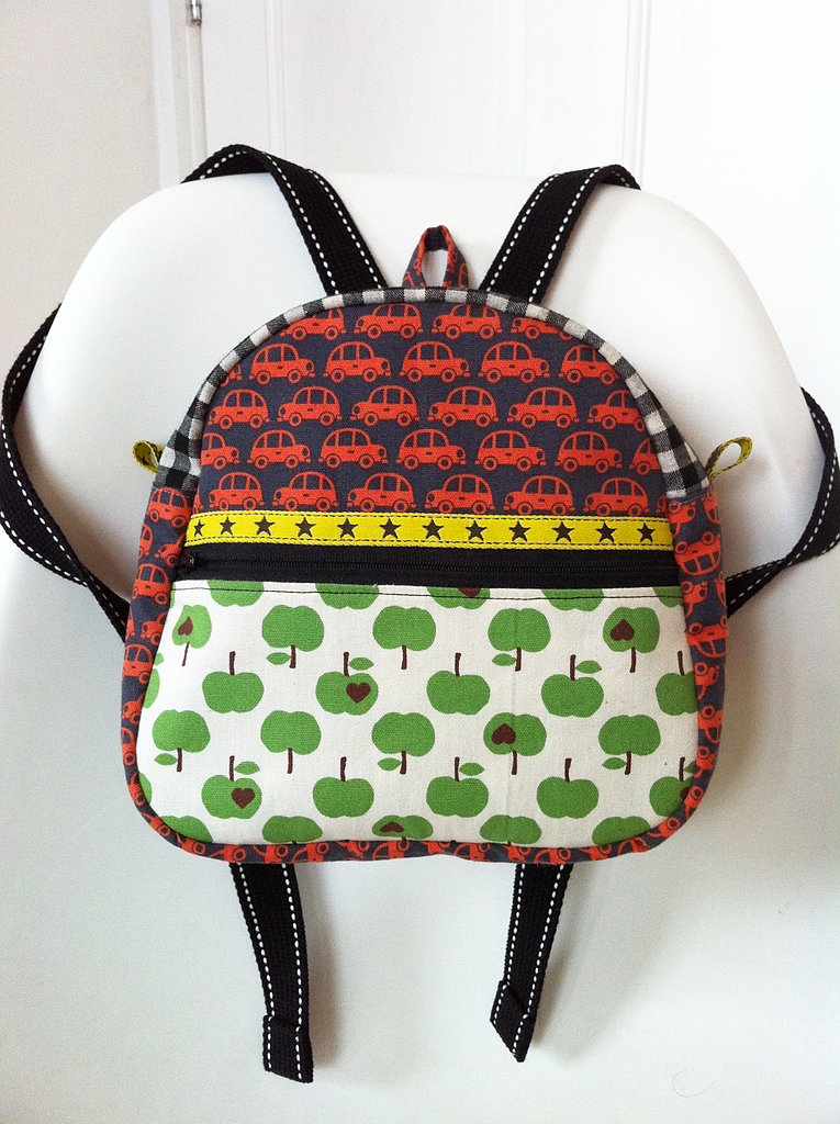 Apple-Themed Backpacks