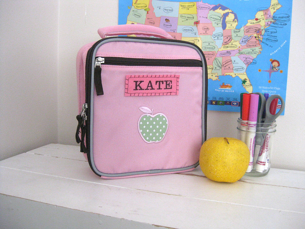 Upcycled Personalized Lunch Bags