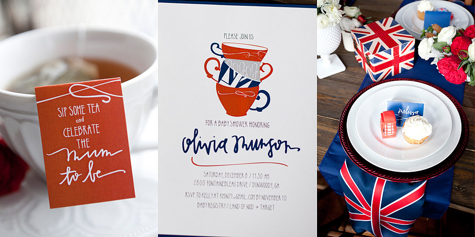 A British Baby Shower Fit For a Prince