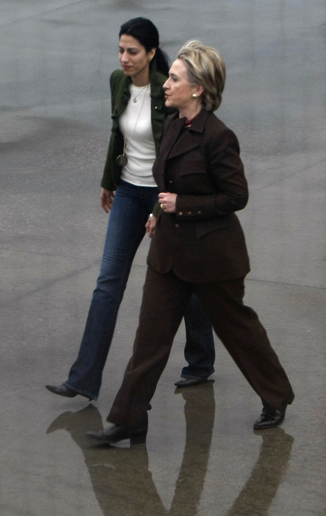 Huma served as Hillary Clinton's chief of staff during her 2008 presidential bid.