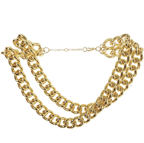 Double Strand Chain Necklace