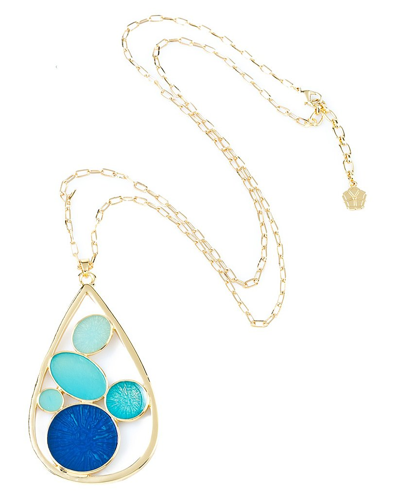 A heavy pendant can dress up your plainest white tee or accent a ready-to-rock dress.