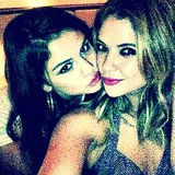 Selena Gomez celebrated her 21st birthday with her Spring Breakers costar Ashley Benson. Source: Instagram user itsashbenzo