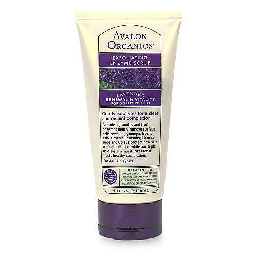 Avalon Organics Lavender Exfoliating Enzyme Scrub Review