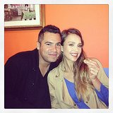 Jessica Alba and Cash Warren went out for a romantic dinner. Source: Instagram user jessicaalba