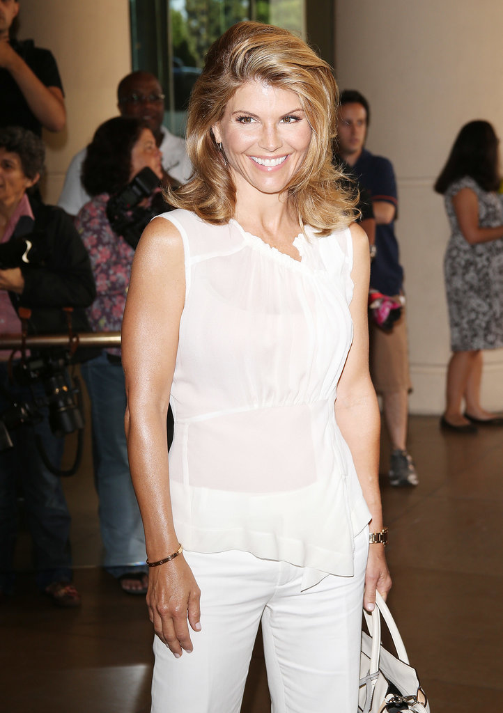 Lori Loughlin from Full House attended the TCA Summer Tour in LA.