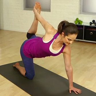 Yoga Poses To Strengthen Backs; How To Get Rid Of Back Fat