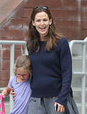 Jennifer Garner Can't Help but Smile Around Her Little Ones