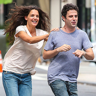 Katie Holmes and Luke Kirby on Set in NYC | Photos