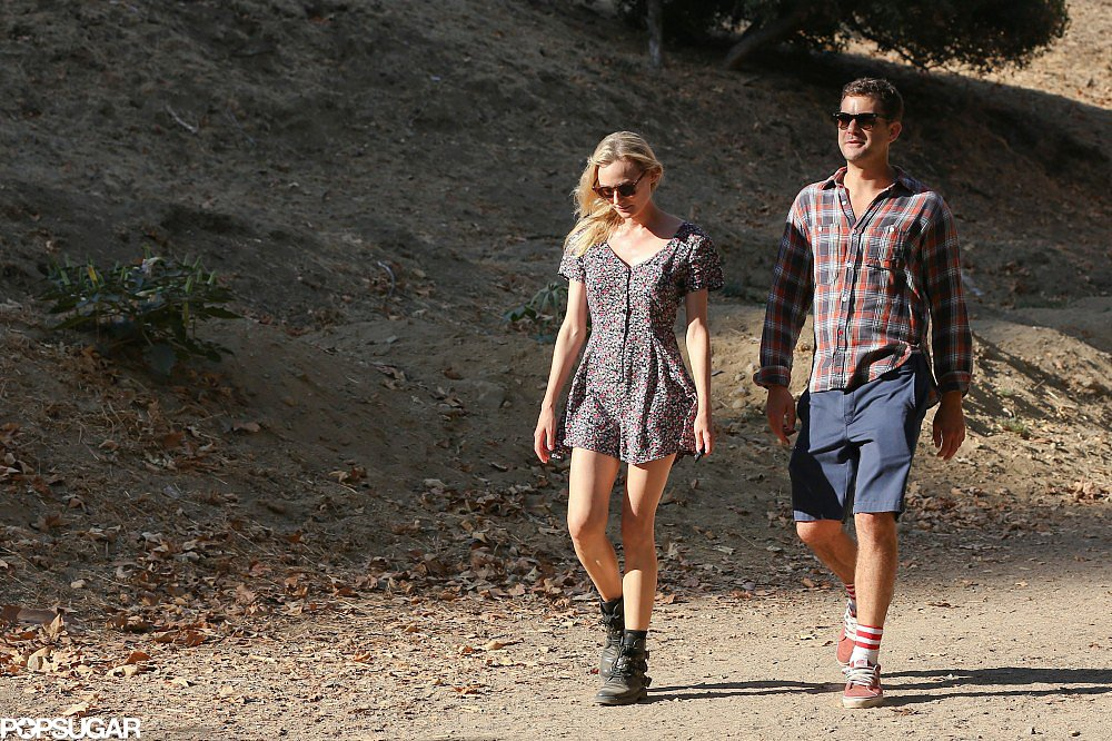 Josh and Diane Take Their Love on a Hike — and a Vespa!