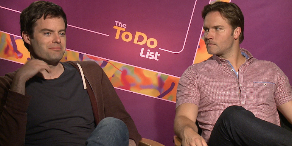 "Why Bill Hader and Scott Porter Were ""Gung Ho"" About The To Do List's Sex Scenes"
