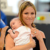 Danneel Harris and Baby Justice Jay Ackles at LAX | Pictures