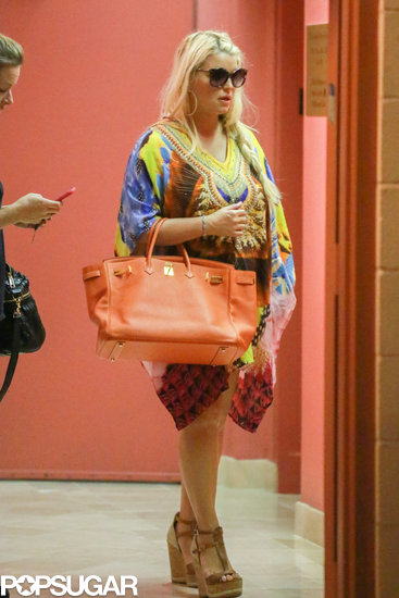 Jessica Simpson Steps Out in First Postbaby Appearance