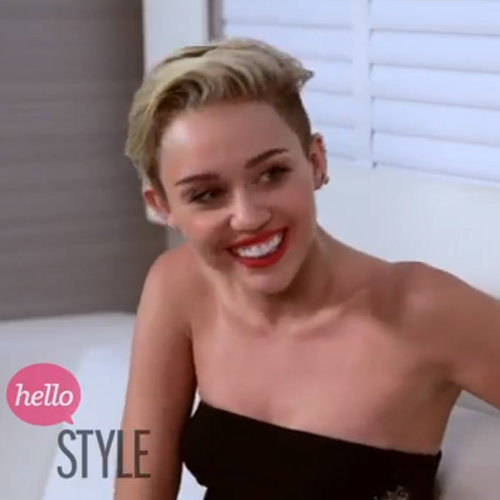 Celebrity Beauty Interview: Miley Cyrus Short Hair & Grills