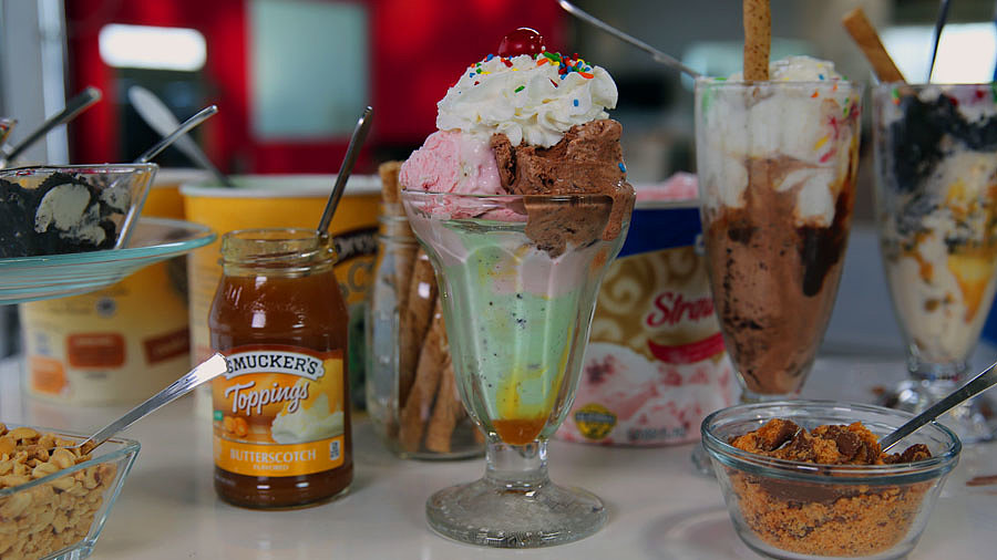 The Ultimate Ice Cream Sundae Bar
