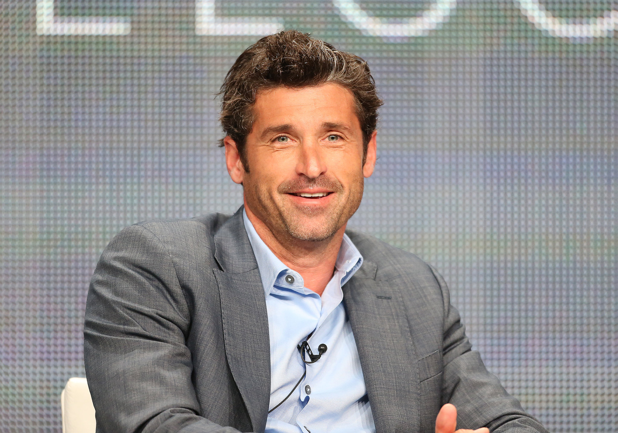 Patrick Dempsey talked about racing at HBO's Racing Le Mans panel.