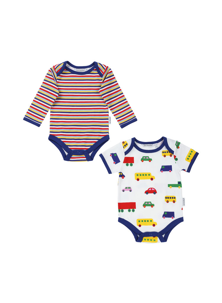 Verneri cotton onesies ($36)