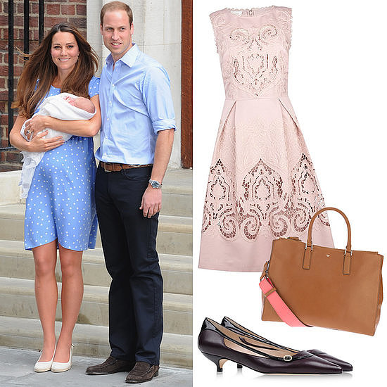 In case you missed it, Kate Middleton had a son this week! We wasted no time putting together our dream postbaby wardrobe for everybody's favorite duchess.