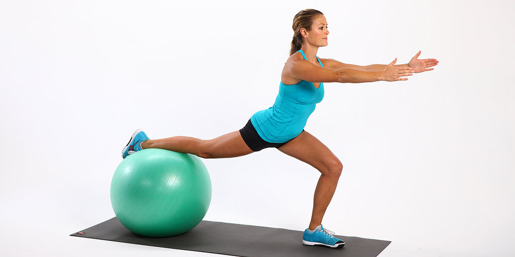 Arbeitsblatt Lunge Full Movie : How to choose an exercise ball for your height popsugar