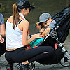 Pictures Of Miranda Kerr & Flynn Bloom With Dog In New York