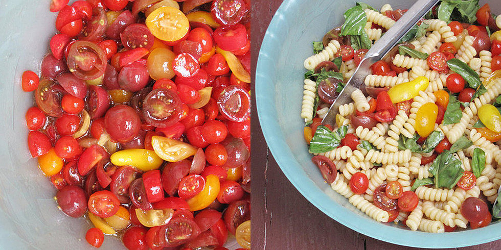 Heat Wave Cooking: Raw Tomato Sauce