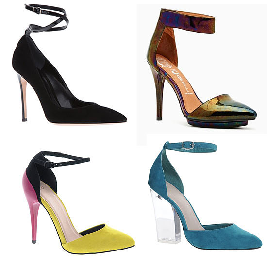 The Essential Wardrobe: Pointy Ankle-strap Pumps
