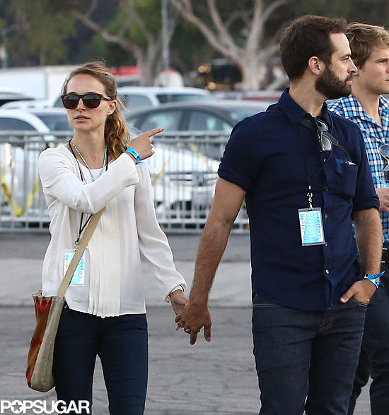 Rob, Natalie, and Jessica Join the Legends of the Summer at the Rose Bowl