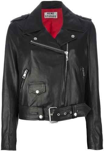 Acne 'Mape' leather jacket