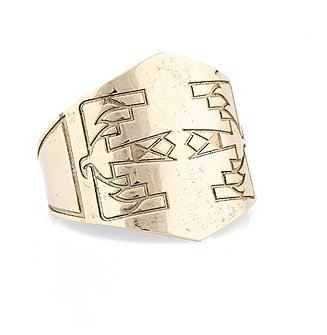 Thunderbird Etched Cuff