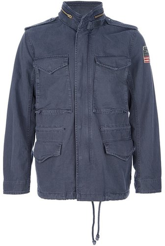 Ralph Lauren Denim & Supply flag print jacket