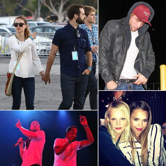 Rob, Natalie and Jessica Join the Legends of the Summer at the Rose Bowl