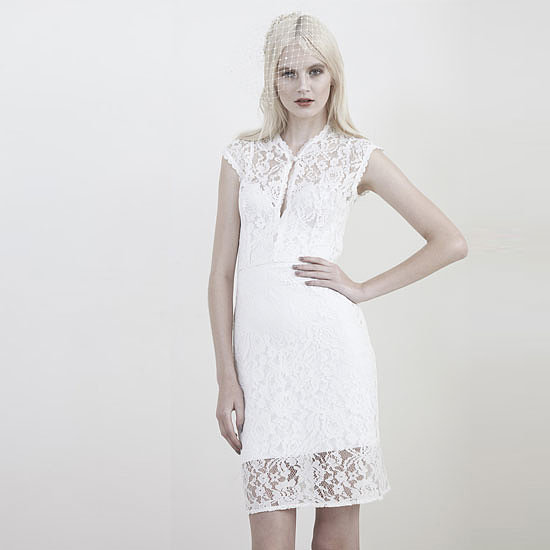 Slip Into Something More Comfortable  — Short Bridal Frocks to Inspire
