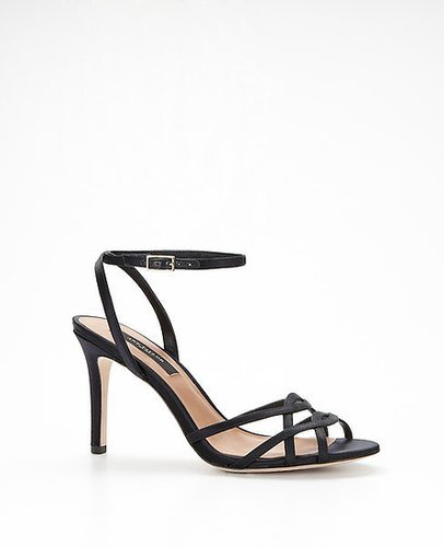 Strappy Satin Sandals