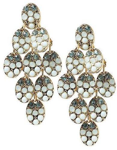 Tinley Road Mint Chandelier Earring