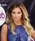 Ashley Tisdale sported ombré waves at The Hub Network event, and she nailed the nude lip look with her lipstick shade.