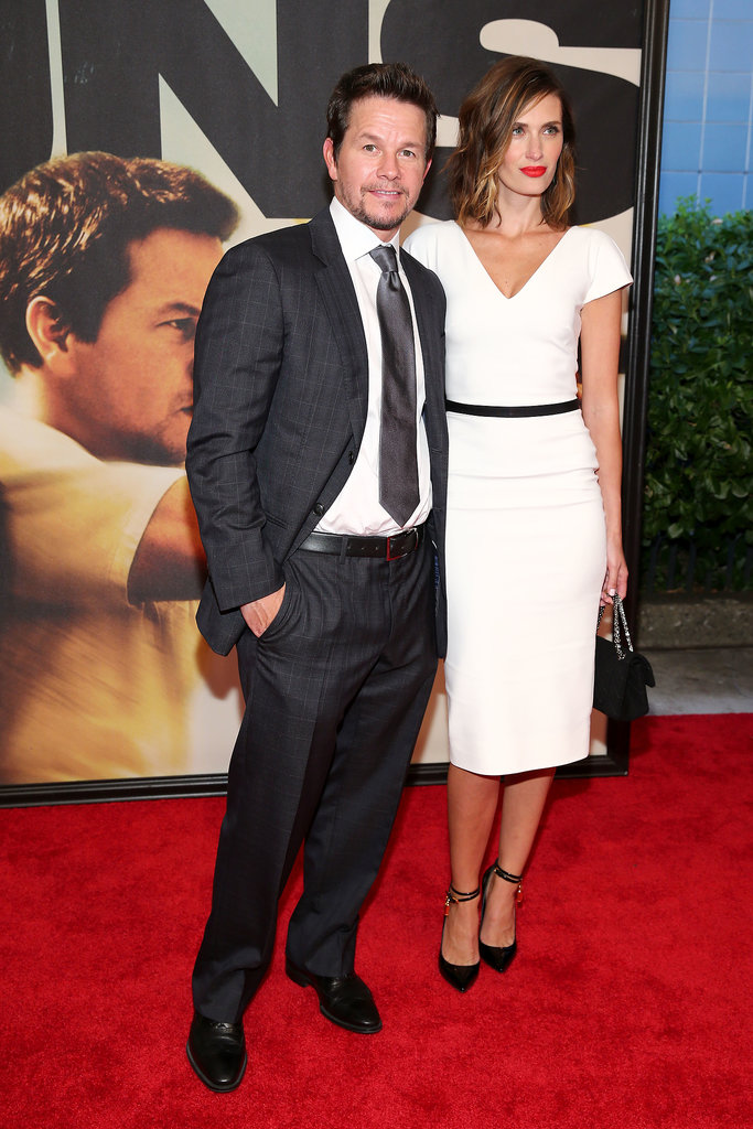Mark Wahlberg brought his wife, Rhea Durham, to the NYC premiere of 2 Guns.