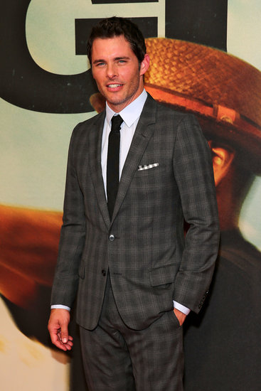 James Marsden looked dapper at the premiere of 2 Guns in NYC.