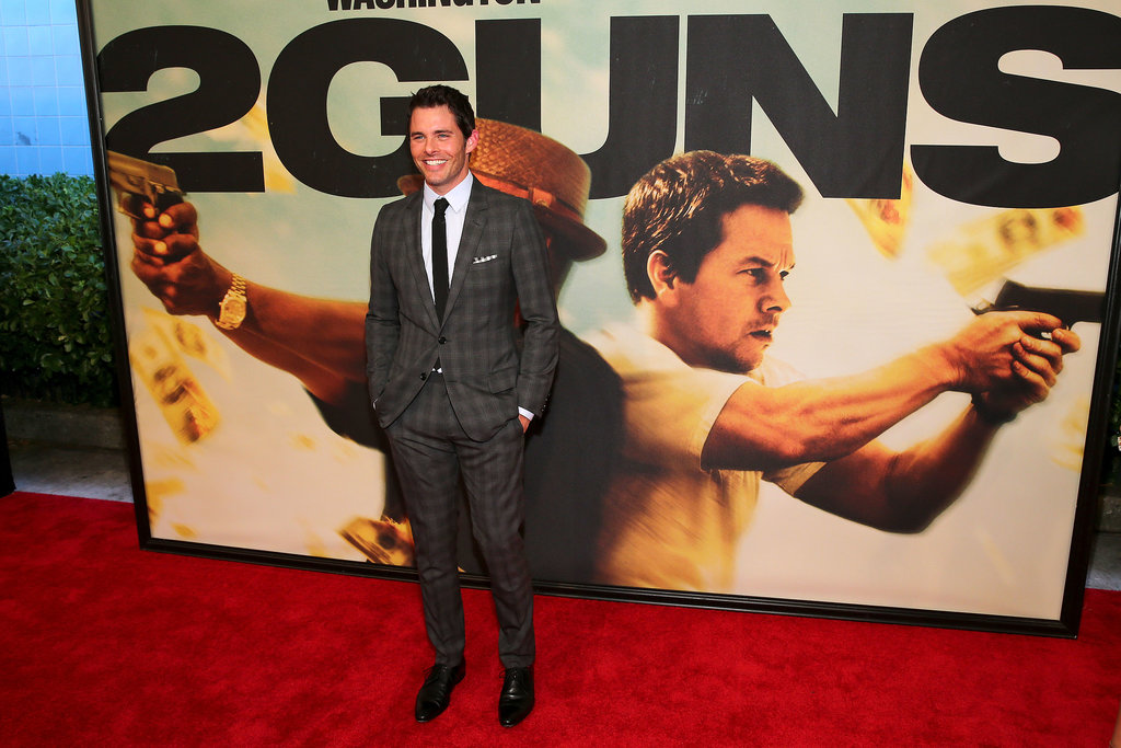 Robin Thicke and Paula Patton Hit the Bullseye at the 2 Guns Premiere