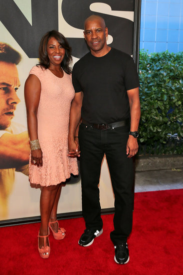 Denzel Washington posed with his wife Pauletta at the NYC premiere of 2 Guns.