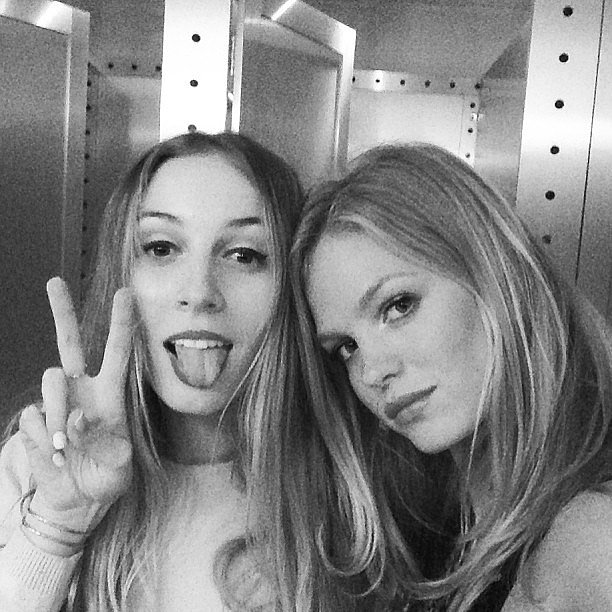Harley Viera-Newton and Erin Heatherton hung out together. Source: Instagram user erinheathertonlegit