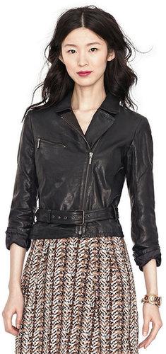 Amber Leather Jacket