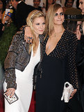 "Brits and besties Sienna Miller and Cara Delevigne share an affectionate friendship, so much so that Sienna had to adress their intimacy after pictures of her kissing Cara surfaced from the 2013 Met Gala. Of the incident, Sienna clarified, ""I did not snog Cara! She is like my little sister. In fact she kissed me."""